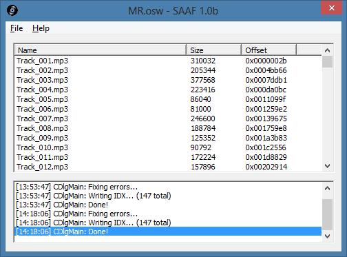 San Andreas Audio Fixer (SAAF)